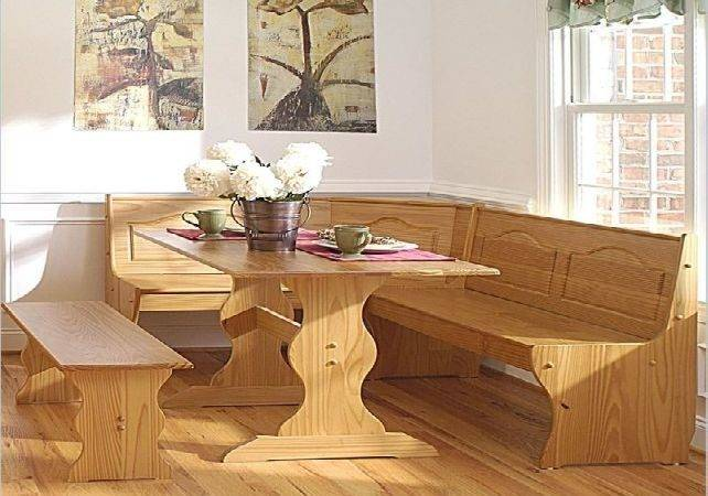 Wood Corner Bench Dining Room Table Ideas