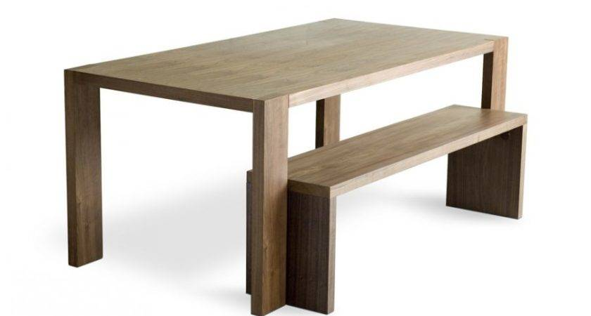 Wooden Benches Tables Modern Dining Table Bench