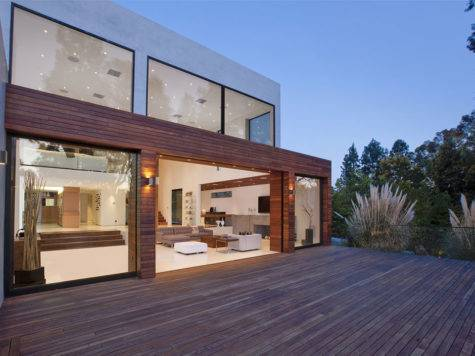 World Architecture Modern Beverly Hills House Wood