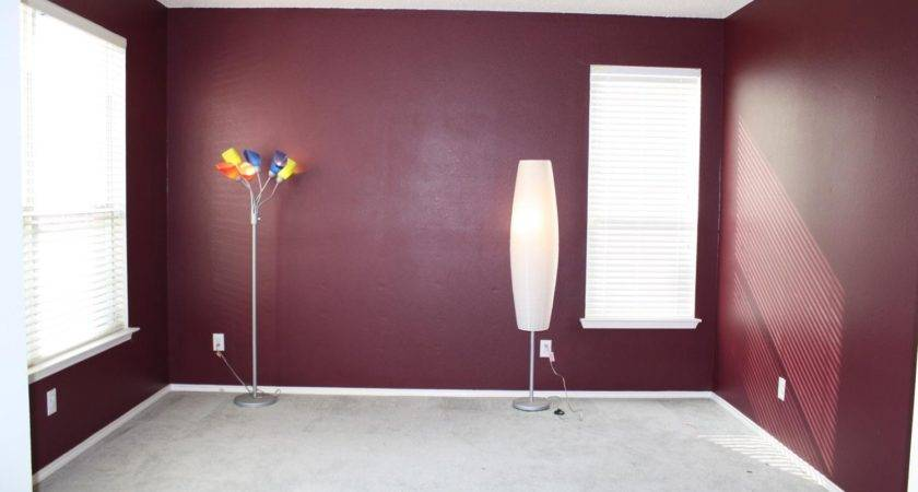 Would Love Burgundy Feature Wall Colour Behind Bed
