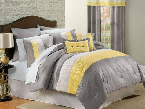 Yellow Gray Bedding Make Your Bedroom Pop