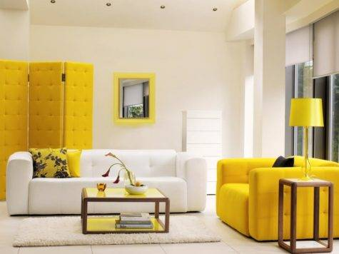 Yellow Summer Decorating Ideas Room